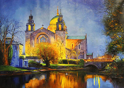 Galway Cathedral, Ireland Art Print