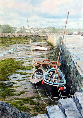 Painting - Galway Hooker by Bill Hudson