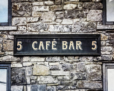Photograph - Galway Ireland Cafe Bar by Lisa Russo