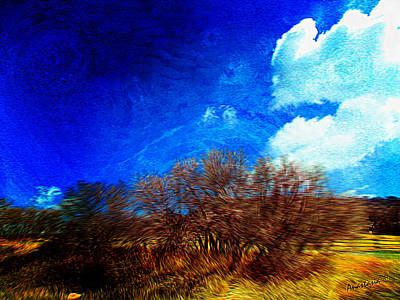 Photograph - Gambel Oaks In The Boisterous April Wind East Of Mancos Colorado by Anastasia Savage Ealy