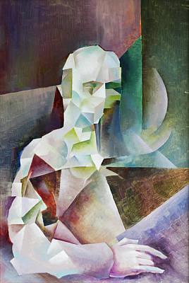 Painting - Gambler II / Dostoevsky by Vlad Zabavskiy