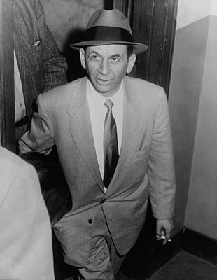 Ancestry Photograph - Gambling Boss Meyer Lansky 1902-1983 by Everett
