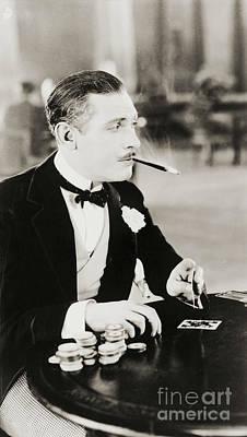 Photograph - Gambling Man 1930 by Padre Art