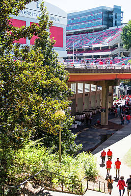 Photograph - Game Day In Athens by Parker Cunningham