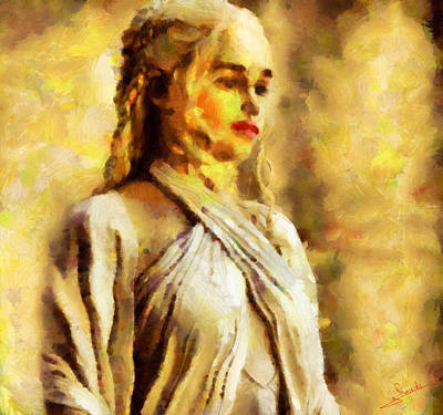 Dream Painting - Game Of Thrones 9 by George Rossidis