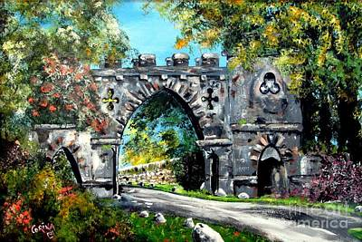 Painting - Game Of Thrones Film Location by Corina Hogan