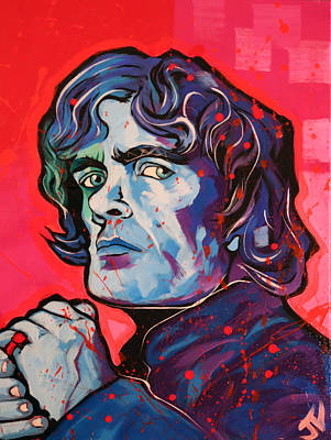 Painting - Game Of Thrones Tyrion by Jay V Art