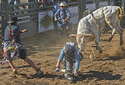 Rodeo Photograph - Game On! by Kirk Cypel