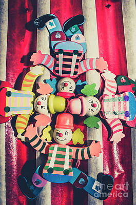 Carnival Wall Art - Photograph - Games Room Of Wooden Circus Play by Jorgo Photography - Wall Art Gallery