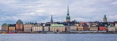 Photograph - Gamla Stan Stockholm's Entrance By The Sea by Torbjorn Swenelius
