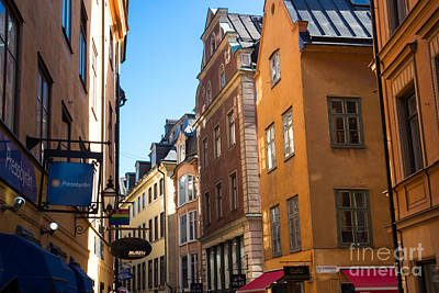 Photograph - Gamla Stan by Suzanne Luft