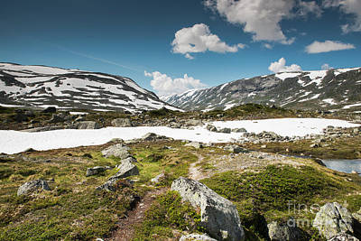 Photograph - Gamle Strynefjellsvegen In Norway by Compuinfoto