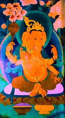 Ganapati 4 Art Print by Lanjee Chee