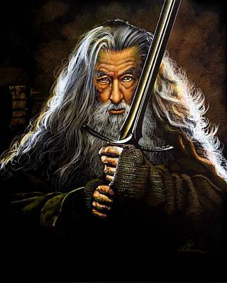 Pastel - Gandalf by Robert Korhonen