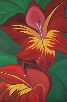 Painting - Gandavenis Hybrid No.2  by Marinella Owens
