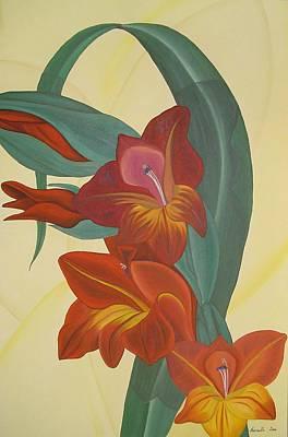 Painting - Gandavensis Hybrid by Marinella Owens