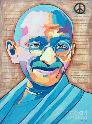 Gandhi Art Print by Venus