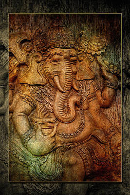 Photograph - Ganesh 4 by WB Johnston