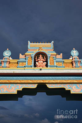 Photograph - Ganesha Archway Puttaparthi by Tim Gainey