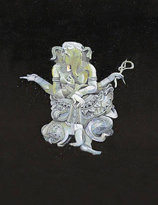 Mixed Media - Ganesha by Eric Kempson