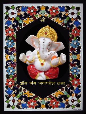 Photograph - Ganesha Frame by Suhas Tavkar