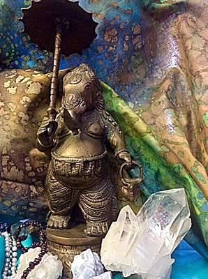 Photograph - Ganesha Ganesh Stilllife  by Ellen Levinson
