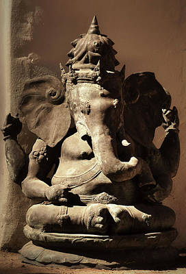 Photograph - Ganesha by Nadalyn Larsen