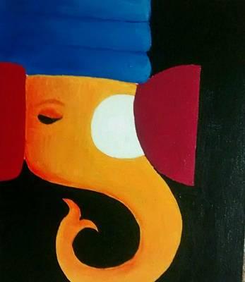 Ganesha Art Print by Nehal Jain