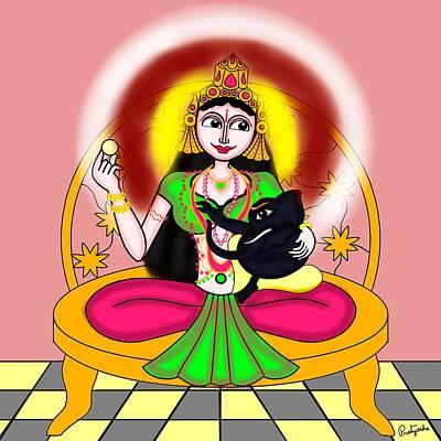 Painting - Gaurisuta by Pratyasha Nithin