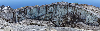 Indian Photograph - Ganges Glacier Panorama by Nila Newsom