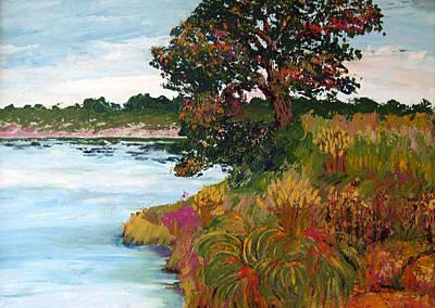 Painting - Ganges Tree by Art Nomad Sandra  Hansen