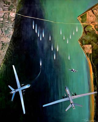 Todd Krasovetz Painting - Gangplank by Todd Krasovetz