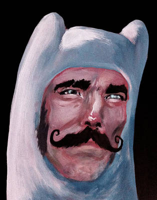 Jason Day Painting - Gangs Of Ooo  by Jason  Wright