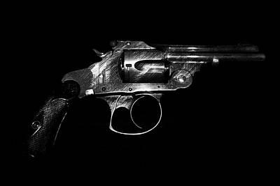 Gangster Gun Art Print