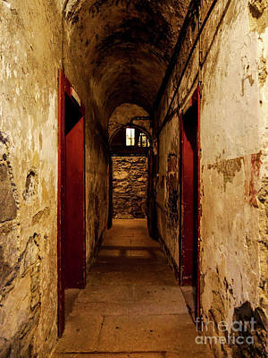 Photograph - Gaol Hallway by Lexa Harpell