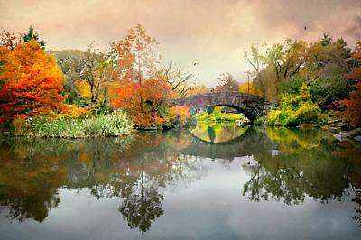 Photograph - Gapstow Bridge by Diana Angstadt