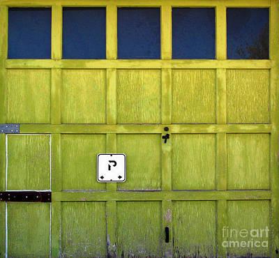 Art Print featuring the photograph Garage Door by Ethna Gillespie