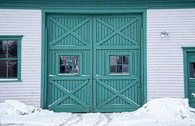 Photograph - Garage Doors by Alana Ranney