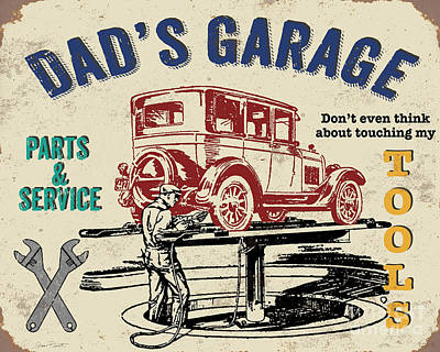 Service Garage Painting - Garage Special-jp3486y by Jean Plout