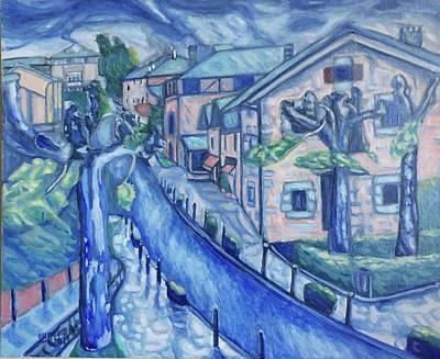 Painting - Garay  by Enrique Ojembarrena