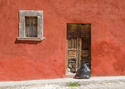 Photograph - Garbage Day, San Miguel De Allende by Rob Huntley