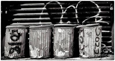 Garbage Art Print by Madeline Ellis