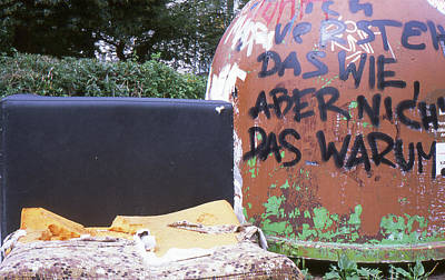 Photograph - Garbage Message by Nacho Vega