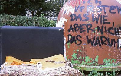 Photograph - Garbage Message by Nacho Vega