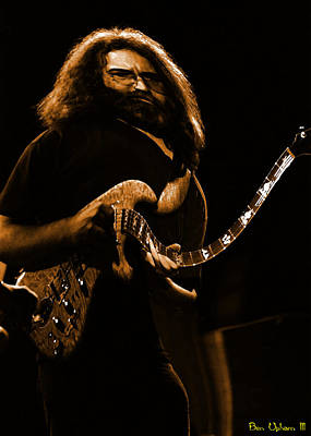 Grateful Dead Photograph - Garciart #14 In Amber With A Twist Of Fate by Ben Upham