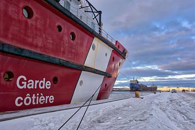 Photograph - Garde Cotiere / Coast Guard by Irwin Seidman