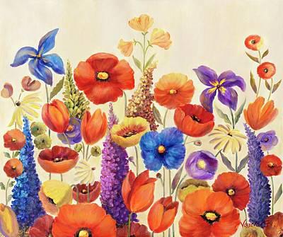 Painting - Garden  A by Vessela Kolibarova