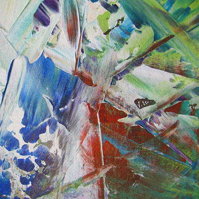 Painting - Garden Abstract 3 by Anita Burgermeister