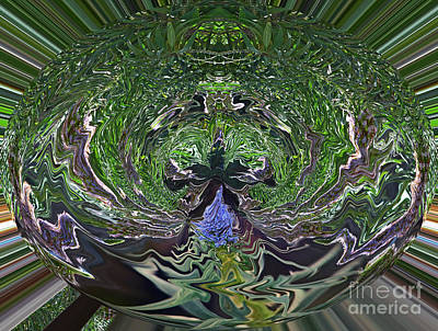 Photograph - Garden Abstract  by Jim Fitzpatrick