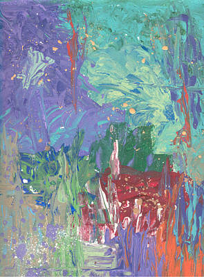 Painting - Garden Abstract No. 2 by Helene Henderson